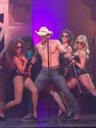 8 Segundos Musica Country en el escenario de Premios Texas 2013